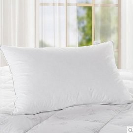 簡戀家紡 羽絨枕頭枕芯 正品酒店枕芯頸椎枕安神助眠