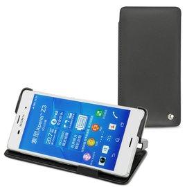 NOREVE 索尼 Sony Xpiera Z3 側翻皮套 可放座充  保護套 保護殼 手機套 手工訂製 法國頂級手機皮套 3種設計 50種以上顏色