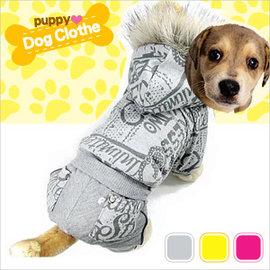 加厚刷毛帽T寵物裝E118~A02^(抓絨T恤裝.刷絨保暖四腳.寵物衣服寵物服裝.小狗衣服