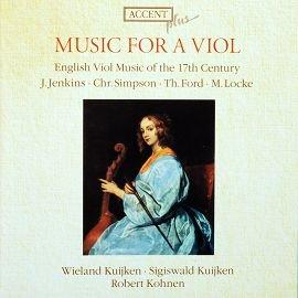 ACCENT ACC10014 英國十七世紀古大提琴曲 English Viol Musi