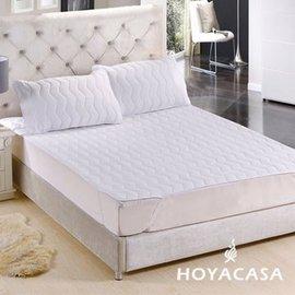 ~HOYACASA 純淨白~ 平單式保潔枕套組^(二入^)