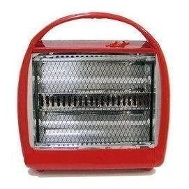 風騰 雙石英管手提式電暖器 FT-666 -紅色 台灣製造!