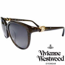 Vivienne Westwood 英國薇薇安魏斯伍德環扣土星太陽眼鏡  墨綠  VW85