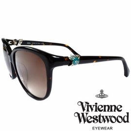 Vivienne Westwood 英國薇薇安魏斯伍德環扣土星太陽眼鏡 琥珀  VW855