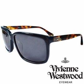 Vivienne Westwood 英國薇薇安魏斯伍德 土星太陽眼鏡 棕琥珀  VW857