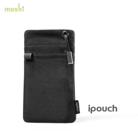【A Shop 傑創】 Moshi iPouch for Apple iPod touch5/classic/iPhone5/5S/5C/4S 專用保護套(禪黑)