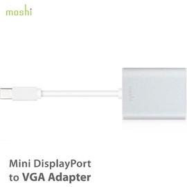 【A Shop 傑創】 Moshi Mini DisplayPort to VGA 轉接線