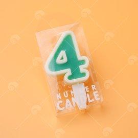 【艾佳】造型數字蠟燭 NO.2-B7501-07-01RE/組