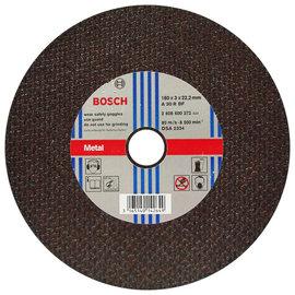 BOSCH 7英吋砂輪片180×3.0×22.2mm(1入)★切斷工作專用
