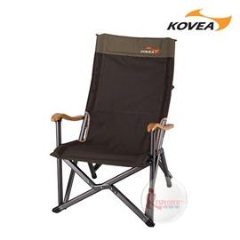 探險家戶外用品㊣KR8CH0201韓國KOVEA FB豪華高背鋁合金休閒椅-竹手把 大川椅巨川椅折疊椅 耐重120KG