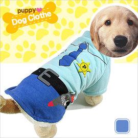 海軍風警察造型寵物裝E118-A23警察裝.寵物衣.寵物衣服寵物服裝.小狗衣服貓衣服.用品.推薦哪裡買