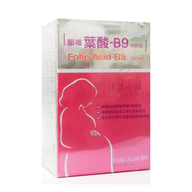 韻補葉酸~B9^(軟膠囊^)Folic Acid~B9 softgel^(60入^)