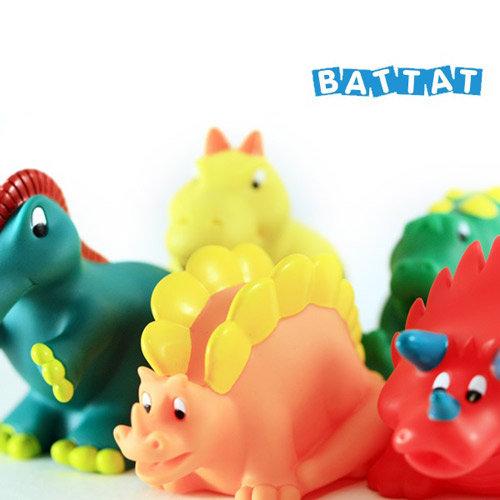 让可爱的恐龙陪著小朋友洗澎澎.
