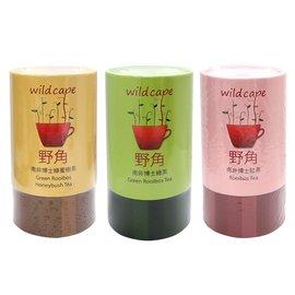 南非国宝茶Wild Cape 野角南非绿蜜树茶+红茶+绿茶 各2.5g*40包/罐