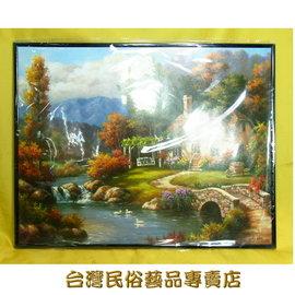 吉風水油畫~風景 40x50