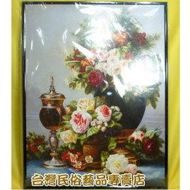 吉風水油畫~花卉 40x50
