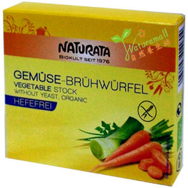 德國Naturata有機蔬菜湯塊ORGANIC VEGETABLE STOCK12公克~6