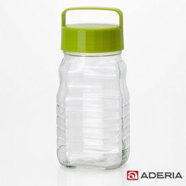 ~ADERIA~ 玻璃梅酒瓶1200ml 綠