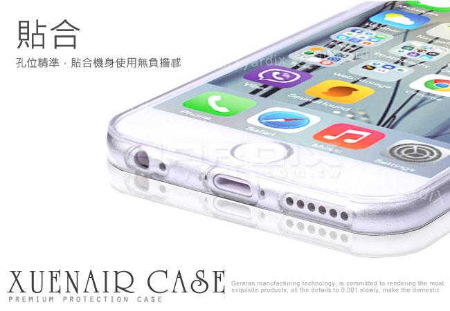 Xuenair Apple iPhone6 4.7吋透明超薄果凍保護套 圖示介紹3