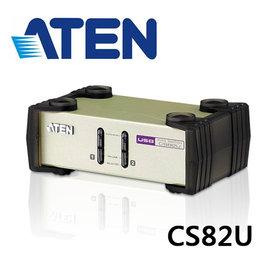 【可 取貨】ATEN CS82U 2埠PS 2-USB KVM多電腦切換器