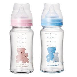 奇哥耐熱寬口玻璃奶瓶240ml (TNA49400)