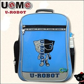 ~UnMe機器人~直率雙層系後背書包/藍色