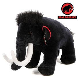 【瑞士 MAMMUT 長毛象】Toy 經典絨毛大象 (XXL)/絨毛布偶.背包吊飾.造型玩偶.抱枕.大象/黑 6040-01160