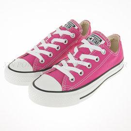 CONVERSE~All Start-基本款 低筒 帆布鞋(桃粉)(144806C)