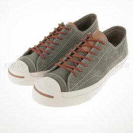CONVERSE~JACK SPLIT 灰色 牛八哥 軟木塞鞋墊 帆布鞋  145605C