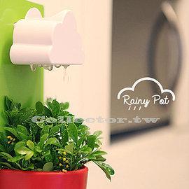 ~F14102201~日韓 雲朵花盆 療癒系 盆栽 下雨壁掛式辦公室植物