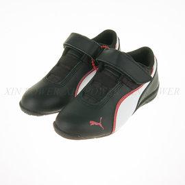 6折出清~PUMA~ 小 中 童 休閒 賽車鞋 黏扣 運動鞋 (305183-01)