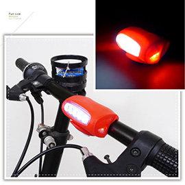【Q禮品】A2225 矽膠5LED大青蛙燈/2用LED燈/閃光燈/警示燈/腳踏車燈/小折 自行車燈