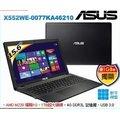【2014.11 全新上市】ASUS 華碩  X552WE-0077KA46210 黑 15.6吋平價CP值超高筆電 4核A4-6210/M230 1G/4G/1TB/SM/Win8.1