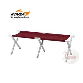 探險家戶外用品㊣KJ8FN0202韓國KOVEA 弗定折收長板凳椅-酒紅 情人椅對對椅雙人椅附收納袋