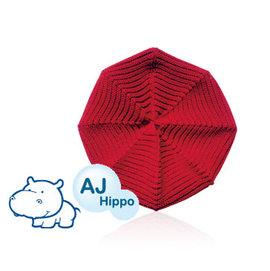 AJ Hippo 小河馬 幼兒報童帽 2~6歲 紅色