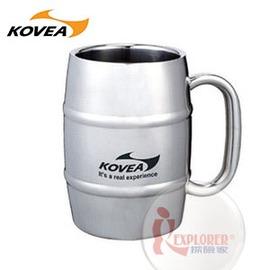 探險家戶外用品㊣KK8BT0207 SM不鏽鋼酒桶型馬克杯500ml 啤酒杯不鏽鋼保冷杯雙層保溫杯