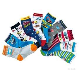 ^~^~阿布 ^~^~~AQ35~ 款^~汽車款兒童襪全棉短襪 男童襪子 卡通男寶寶襪^(