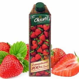 不加一滴水 100^%原汁原味~皇家農場~100^%鮮果汁~草莓汁^(1000mlx2瓶^