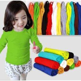 ~日單~白色、灰色、紅色、黑色、咖色、藍紫色底棉質無印花素面圓領上衣 內搭衣^(90~12