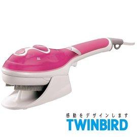 ◤贈精美購物袋◢ 日本 TWINBIRD 手持式蒸氣熨斗(粉紅限定版) SA-4084TW