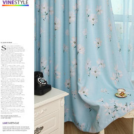 • Vine Style • 花樣年華遮光窗簾~寬130^~高200cm~ Tiffany