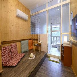 【線上旅展 - 3張組】湯館溫泉 - 櫻之湯 (湯屋+休憩區+貴妃躺椅) + 飲料2杯
