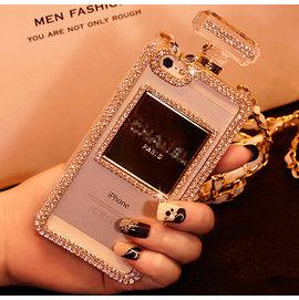 香水瓶水鉆手機保護殼iPhone7 iPhone7plus iPhone6 iPhone6