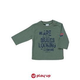 ~LE PREMIER送子鳥~葡萄牙PLAY UP ~小男孩英文塗鴉長袖上衣