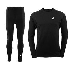 PUSH!機能面料POLARTEC+萊卡完美比例運動保暖長袖內衣褲衛生衣褲圓領(男款)