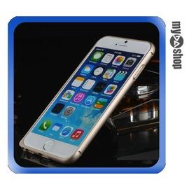 ~DA量販店~APPLE 蘋果 iphone6 4.7吋 弧邊 金屬 邊框 海馬扣 金色
