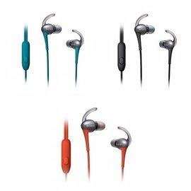 SONY MDR~AS800AP 款 入耳式抗汗耳機 可接聽電話,播放  暫停