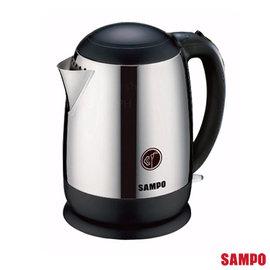 SAMPO 聲寶 1.5L 全不鏽鋼廣口易潔快煮壺 KP-PC15C