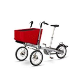 【便宜出清】『GA01-12』荷蘭Taga bike 二合一親子腳踏車專用 Eco Shopping Basket 超大置物籃(不含車架)【公司貨/展示品●介意勿下標】