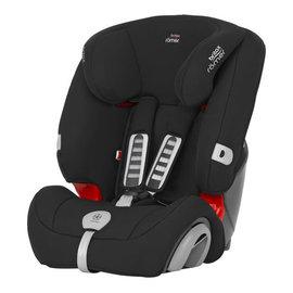 【紫貝殼】『GCF07』2015年新款 英國原裝 Britax Rmer Evolva (9個月~12歲) 旗艦成長型汽車安全座椅(黑)